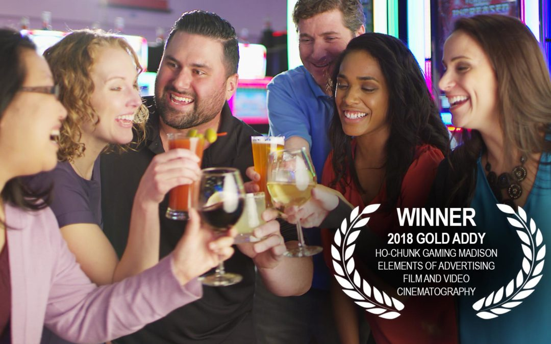 Creative Edge Productions Wins Gold ADDY Award for Best Cinematography in Film & Video Advertising