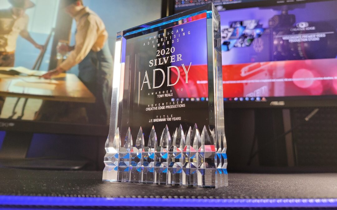 Creative Edge wins 2020 Addy Award for cinematography